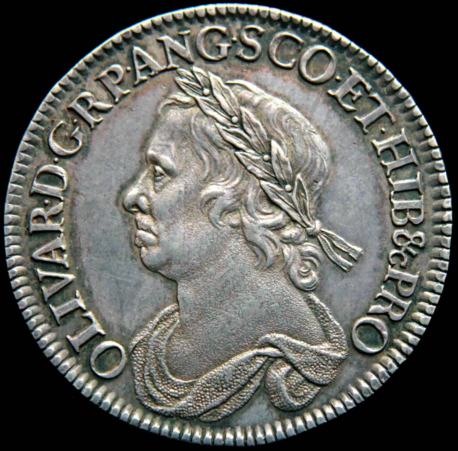 Cromwell Halfcrown of 1658